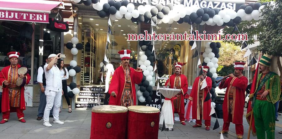 mehteran takımı ile açılış organizasyonu Osmanlı Mehter
