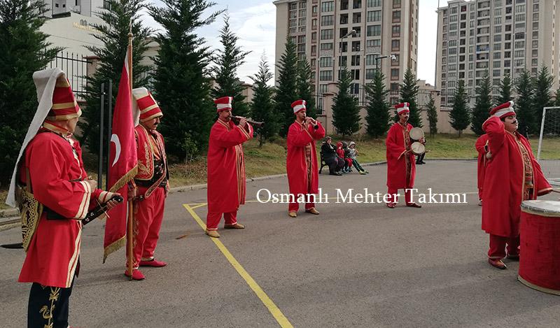 osmanlı mehter takımı ile açılış