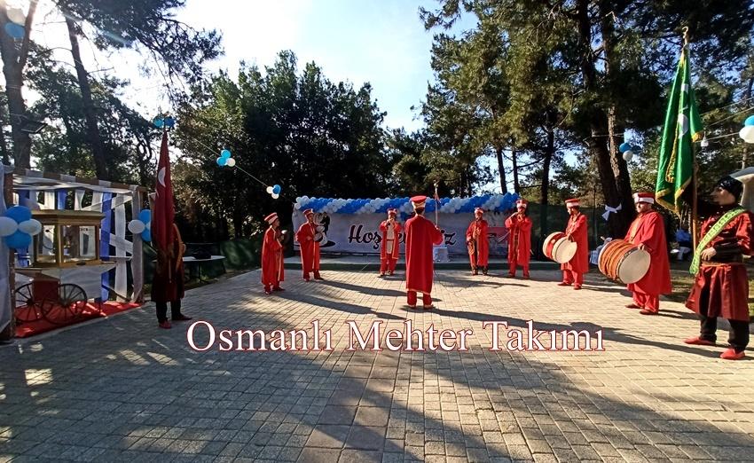muhteşem mehter takımı gösterisi Beyoğlu